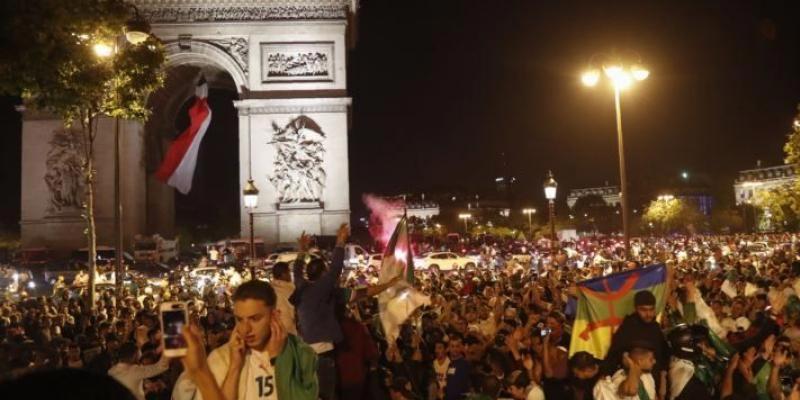 بعد فوز الجزائر.. توقيف 282 شخصا في فرنسا