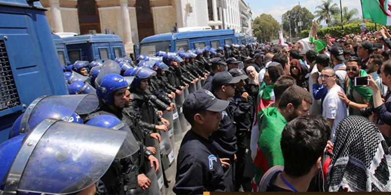 الجزائر: اعتقال عشرات المتظاهرين