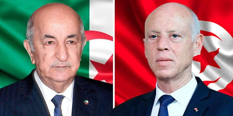 اتصال هاتفي بين قيس سعيّد ورئيس الجزائر