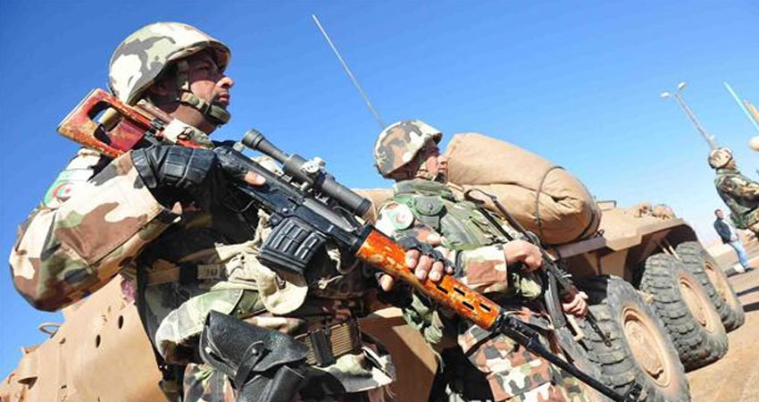 استسلام 7 'متشددين' جنوب الجزائر