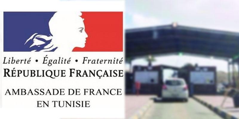 Les précisions de l'Ambassade de France concernant les diplomates français armés à Ras Jedir