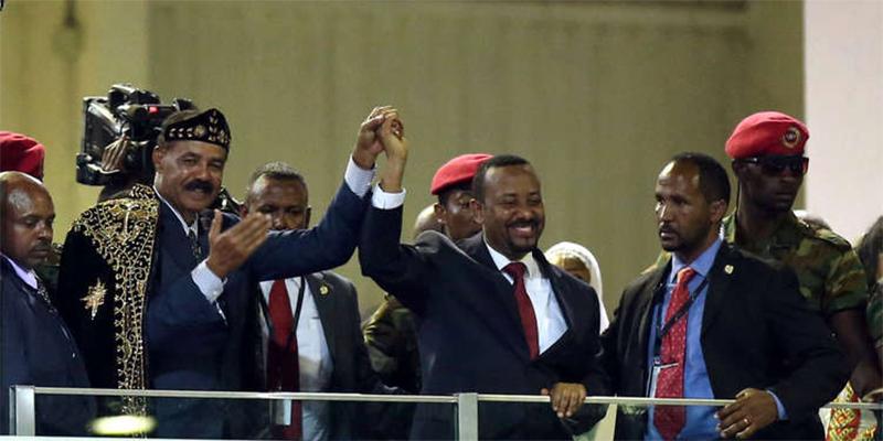 رئيس إريتريا يفتتح سفارة بلاده في العاصمة الإثيوبية أديس أبابا