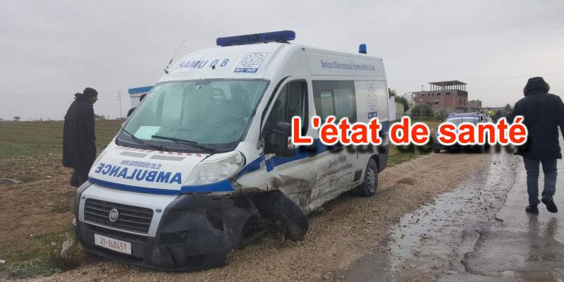 Accident de la route à Siliana, 3 femmes enceintes parmi les passagers