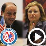 Interviews exclusive de Amel Bouchamaoui et Khaled Babbou Past et President de l'AmCham