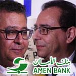 En vidéo : Ahmed El Karm et Nomane Fehri autour de Amen First Bank et de l'économie numérique
