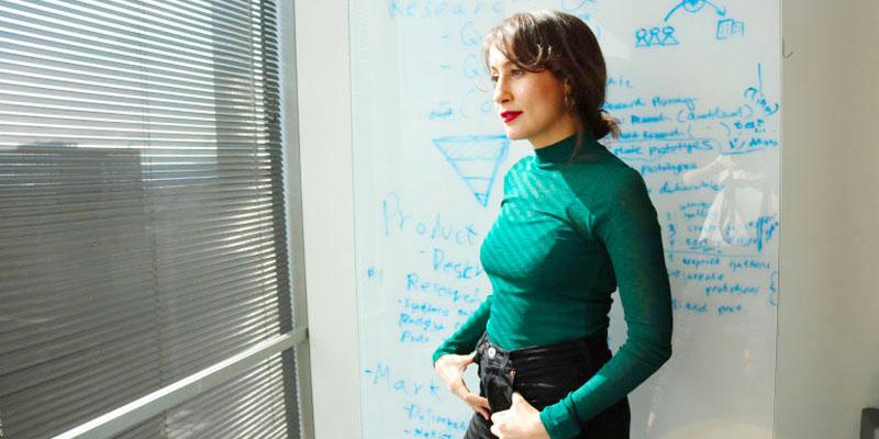 Avec sa Startup, Amira Yahyaoui propose d'aider les étudiants des universités américaines