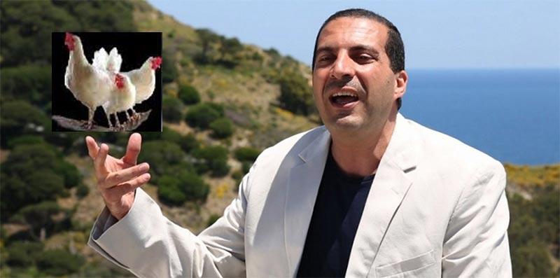 بالفيديو..بعد فيديو الكعبة : عمرو خالد يثير السخرية مجددا في إشهار حول الدجاج