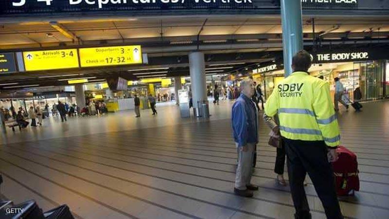 إلغاء كل الرحلات في مطار سخيبول بأمستردام