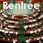 Rentrée conviviale des députés à l'Assemblée Nationale Constituante