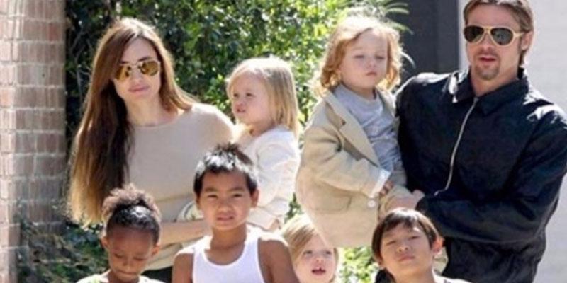 أنجيلينا جولي تستغني عن أطفالها