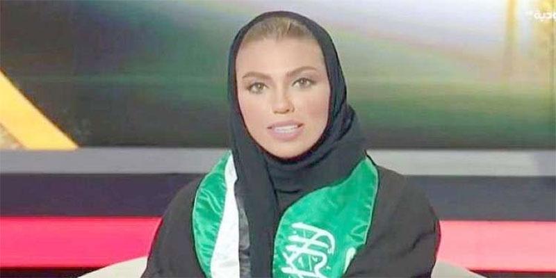 بالفيديو: أول مذيعة في تاريخ القناة السعودية الرسمية