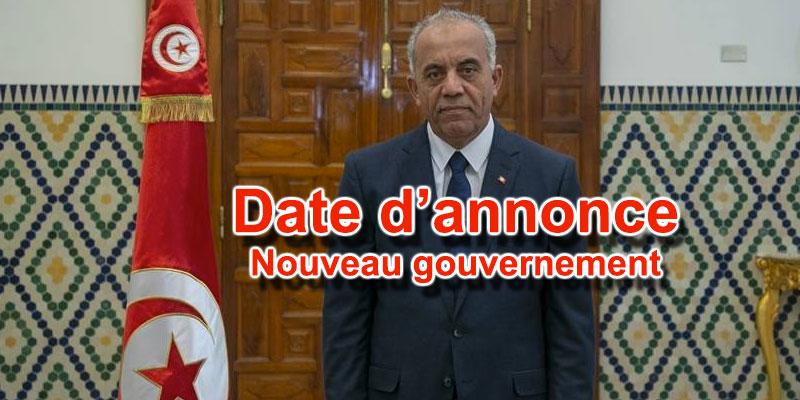 Voici la date d'annonce du nouveau gouvernement