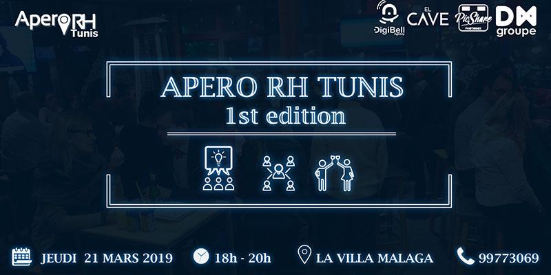 La première édition de l'Apéro RH Tunis le 21 mars à la Villa Malaga