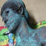تمثال أبولو يظهر بعد 2500 عام في غزة