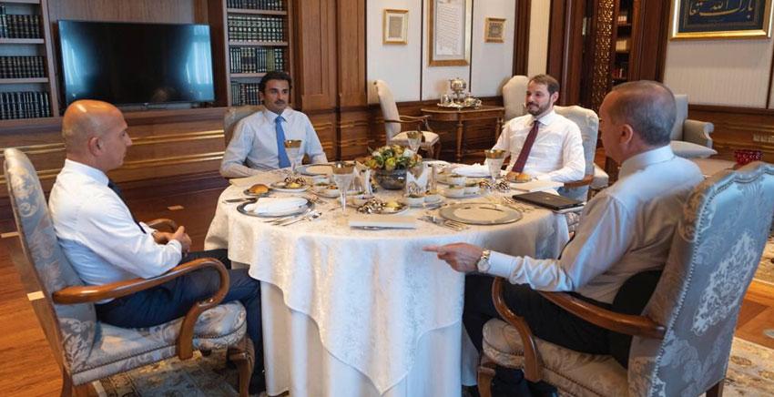 قطر تدعم الاقتصاد التركي بضخ 15 مليار دولار<