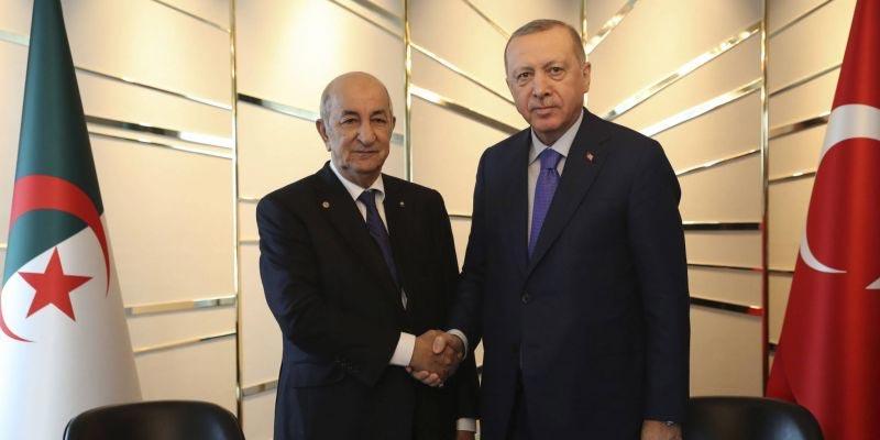 أردوغان في زيارة إلى الجزائر