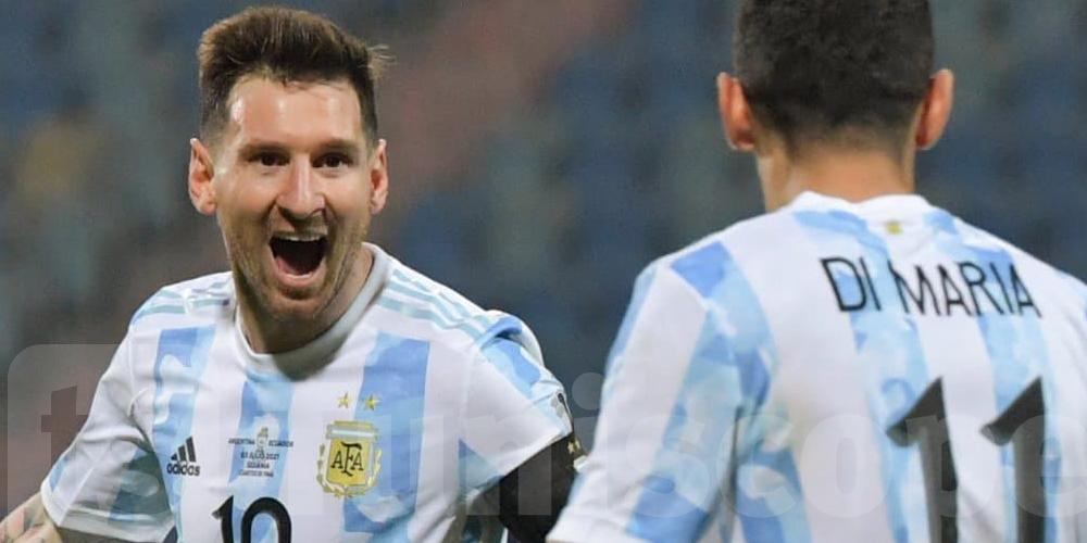 Copa America: l'Argentine écrase l'Equateur et passe en demi-finales