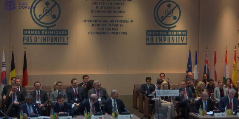 Un Partenariat contre les armes chimiques, Damas dans le viseur
