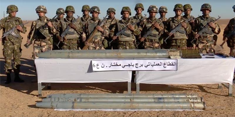 Une planque d'armes lourdes et de munitions dévoilée en Algérie