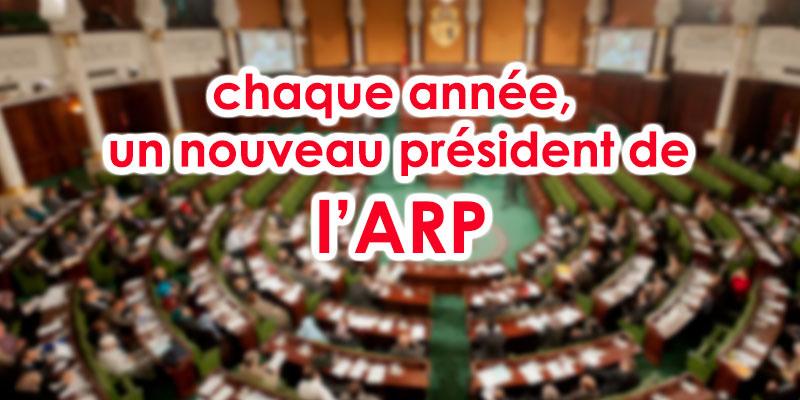 Un nouveau président de l'ARP chaque année