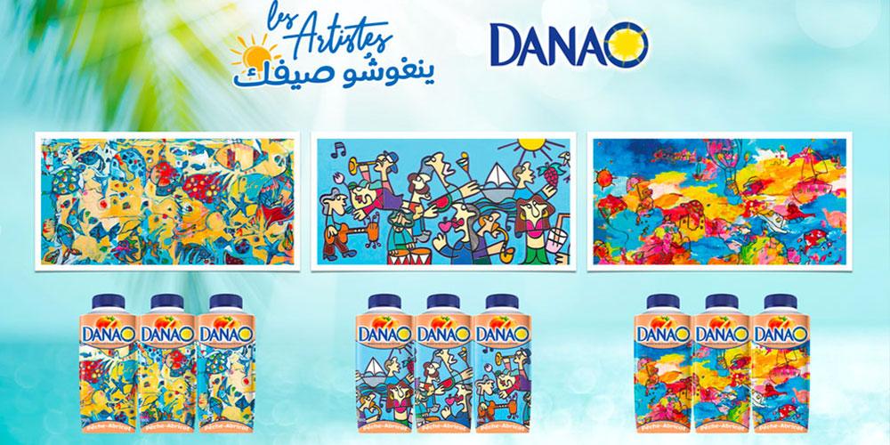 للموسم الثاني على التوالي : 'داناو '  تقدّم  لمستهلكيها الصيف التونسي من خلال  فن الرسم والإبداع