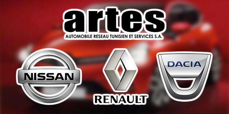 ARTES leader sur le marché des véhicules particuliers et Renault, la marque la plus vendue en 2017
