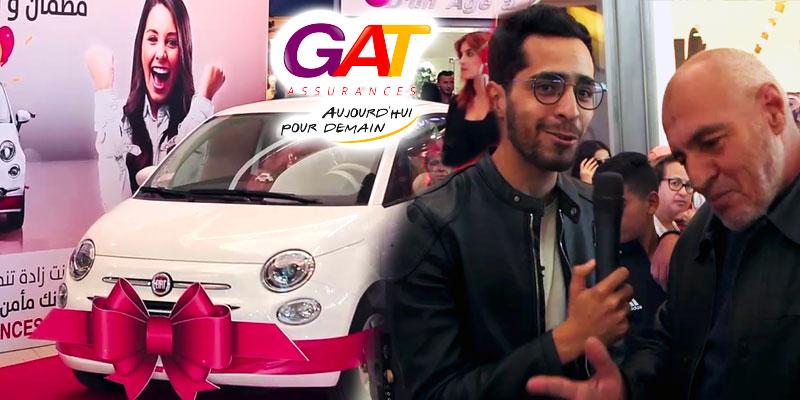 GAT ASSURANCES récompense la fidélité de ses clients en offrant une voiture