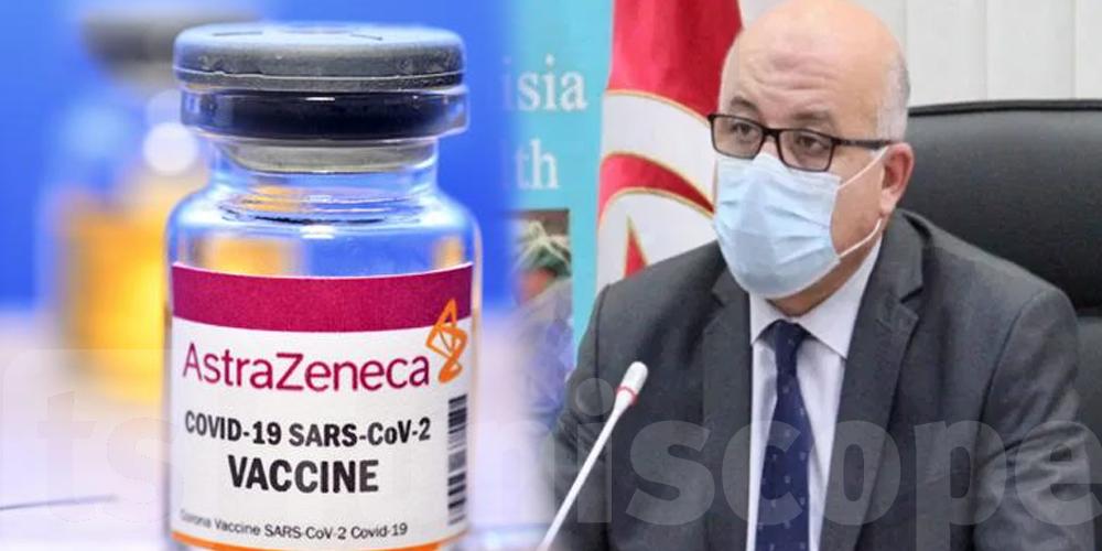 Tunisie : Effets secondaires enregistrés à cause d'AstraZeneca, le ministre clarifie