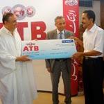 L'ATB récompense le gagnant de son concours Epargne El Khir et quelques agences