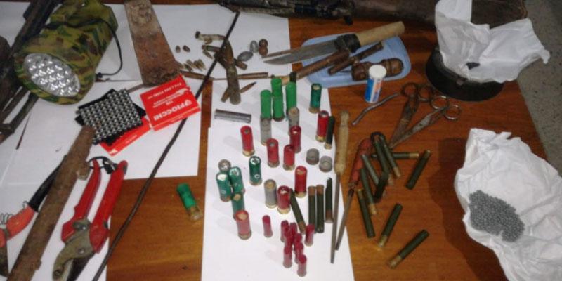 Découverte d'un atelier de fabrication d'armes à la Zahra
