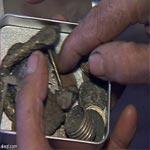 حجز 1001 قطعة نقدية فضية تعود الى العهد الروماني