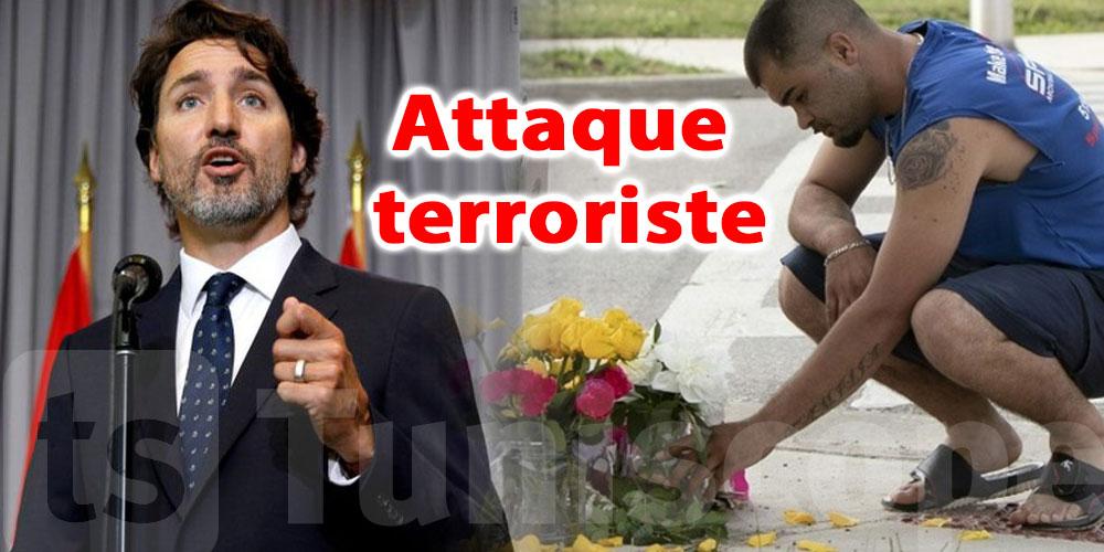 Musulmans tués au Canada: C'est une ''attaque terroriste''