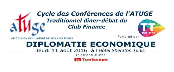 La diplomatie économique thème de la conférence ATUGE du jeudi 11 août