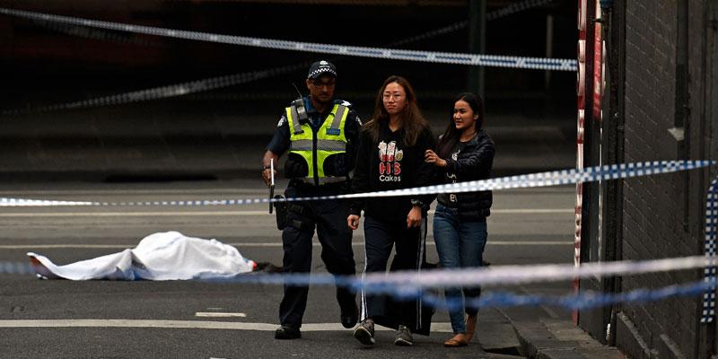 Le groupe Etat islamique revendique l'attaque au couteau en Australie
