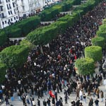Libération de l'Av Habib Bourguiba : Les Députés de l'ANC en manifestation à 15h