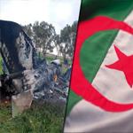 الجزائر: سقوط طائرة عسكرية ومقتل طاقمها