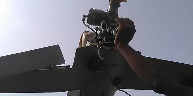 إسقاط طائرة  إيرانية قرب مطار الحديدة