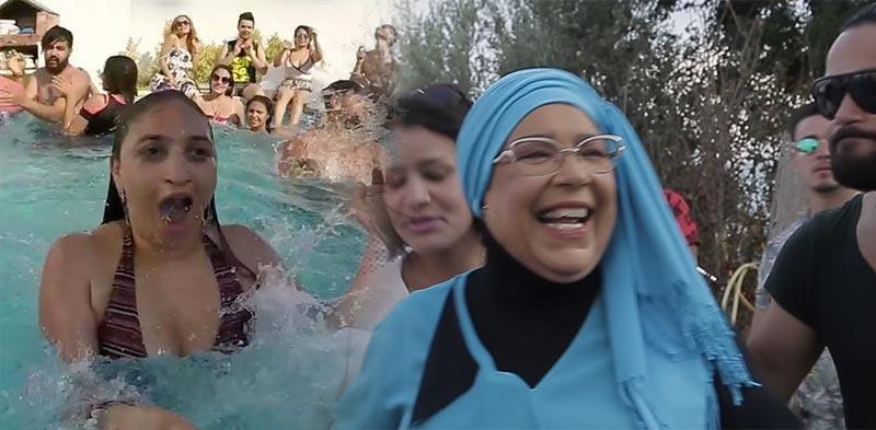 بالفيديو: عزيزة بولبيار توضّح كواليس مشاركتها في كليب ''هي تطيح وأنا نطلعها''