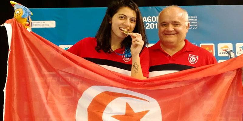Médaille d'or pour l'escrimeuse Azza Besbès aux Jeux Méditerranéens de Tarragone