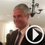 La 'CFHF' a organisé un dîner débat en présence de Laurent Wauquiez, Vice-président de l'UMP