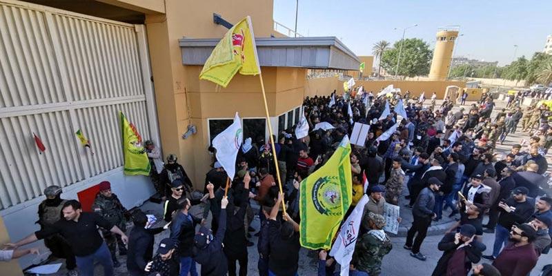 بغداد: إجلاء السفير الأمريكي وموظفي السفارة