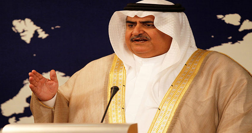 نتنياهو يفضح وزير الخارجية البحريني خالد بن أحمد آل خليفة