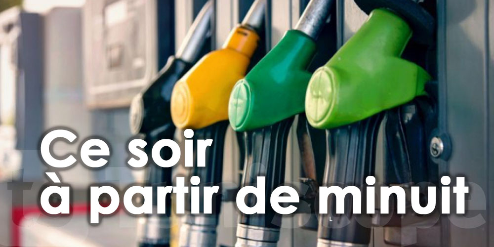 Baisse des prix des hydrocarbures, ce soir à partir de minuit
