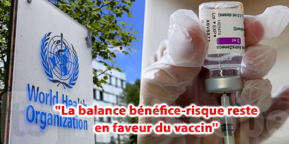 Malgré un ''lien'' avec des thromboses, l'OMS confirme son soutien au vaccin d'AstraZeneca ''