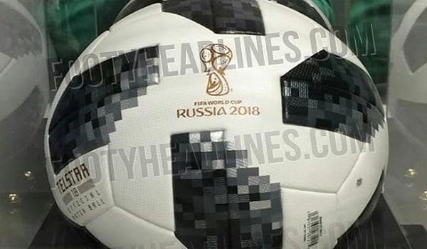 Document fuité - le ballon officiel de la Coupe du monde 2018 dévoilé
