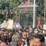 Campus Universitaire El Manar : Les étudiants marchent sur l'Assemblée Constituante
