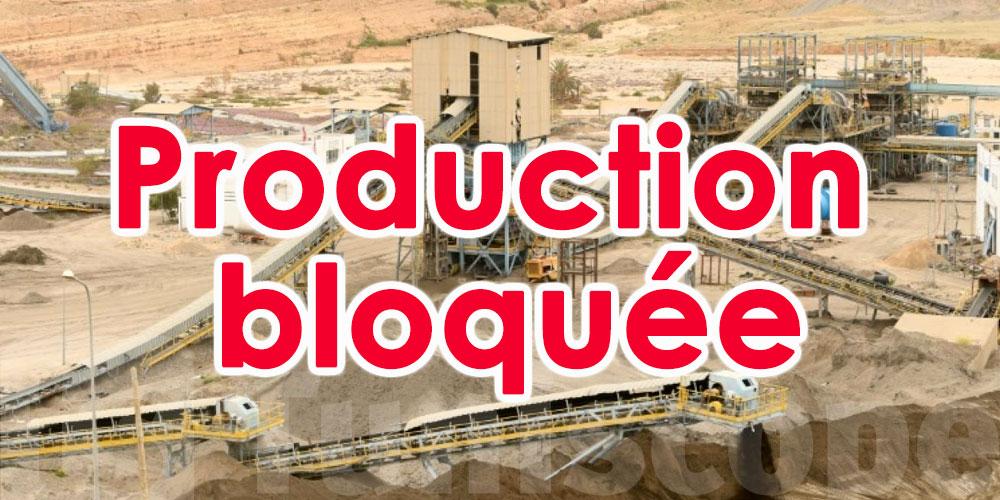Calme plat et absence de production au bassin minier