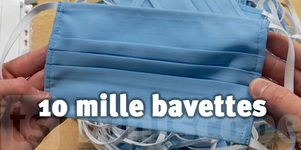 Une société allemande distribue 10 mille bavettes à Bizerte
