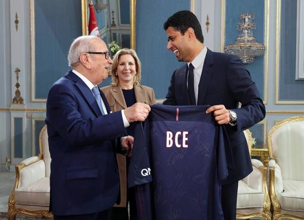 Photo du jour : BCE rejoint le PSG !