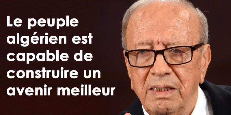 Le peuple algérien est capable de construire un avenir meilleur selon BCE